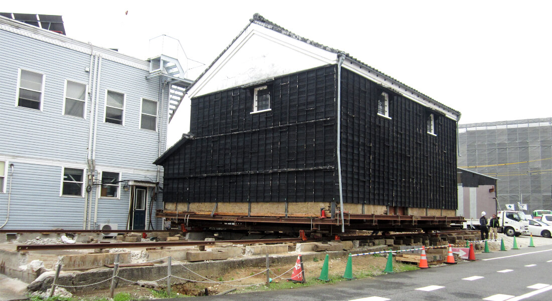 建造物移動工事